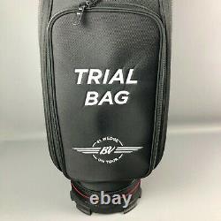 Titleist Jet Black Vokey Trial Mid Size Staff Golf Cart Bag RARE NEW! 2021