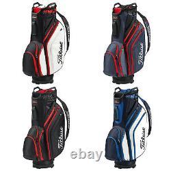Titleist Lightweight 14 Cart Trolley Golf Bag Tour Colours Full Length Dividers