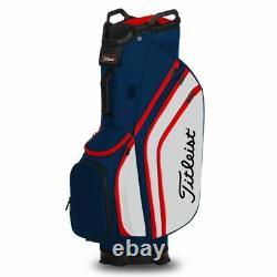 Titleist Lightweight 14-WAY Golf Cart Bag Navy/White/Red NEW! 2020