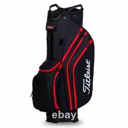 Titleist Lightweight 14-WAY Golf Trolley/Cart Bag Black/Red NEW! 2020