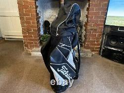 Titleist Reverse Black & White Cart Bag 14 way Divider