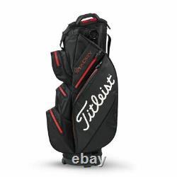 Titleist StaDry Cart Bag 2020 Black/Red £209.99