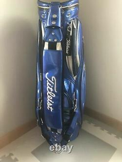 Titleist Staff Cart Caddy Golf Bag, CB610 JP, in blue, NEW Other