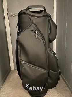 VESSEL LUX XV CART Golf Bag Black 14-Way