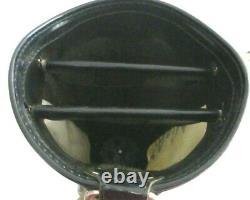 Vntg 80s Titleist black white Carry Cart Bag 3 Way Divider 9 Top travel hood