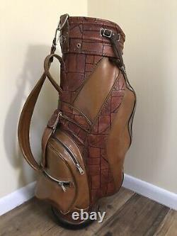 Westchester Golf Cart Bag (Vintage Super Rare Made In USA)
